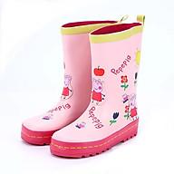 Ủng đi mưa hoạt hình thời trang, giúp bảo vệ đôi chân cho bé - SB010-P thumbnail