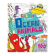 Colour By Numbers Ocean Animals thumbnail