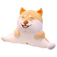 Đệm Gối Tựa Lưng Ô Tô Bàn Học Gối Ôm Đa Năng Hình Chó Shiba Cười Siêu Dễ Thương thumbnail