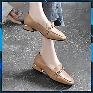 Giày búp bê nữ da thật 21148 thumbnail