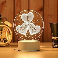 Đèn ngủ - đèn LED 3D họa tiết thumbnail