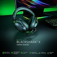 Tai Nghe Razer BlackShark V2 X V2 (có soundcard, đệm tai vải) - Hàng chính hãng thumbnail