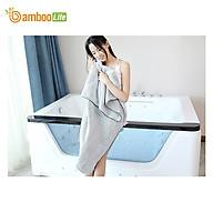 Khăn tắm Bamboo Life BL058 hàng chính hãng được làm từ sợi tre thiên nhiên mềm mại kháng khuẩn siêu thấm hút an toàn cho da thumbnail