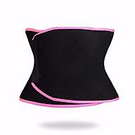 Đai nịt bụng giảm mỡ bụng Sweet Sweat Waist Trimmer - Viền hồng, đen, vàng - Giao ngẫu nhiên thumbnail