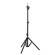 Tripod Cosmetology Training Doll Head Stand Mannequin Manikin Head Tripod Wig Stand With Travel Bag thumbnail