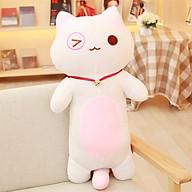 Gấu bông gối ôm mèo dài siêu xinh xắn dễ thương, Gấu bông sạng trọng, Đồ chơi thú bông thumbnail