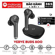Tai Nghe Bluetooth Motorola Vervebuds 800 - Hàng Chính Hãng thumbnail