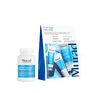 Bộ sản phẩm giảm mụn từ trong ra ngoài Pure Skin Clarifying Dietary Supplement và In The Clear Murad thumbnail