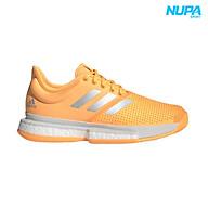 Giày Tennis SoleCourt Boost - Orange White Grey thumbnail