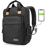 Balo Tomtoc A60 (Usa) Daily Backpack For Ultrabook 15 22l Black thumbnail