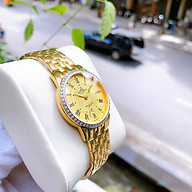 Đồng hồ thời trang nữ dây kim loại cao cấp thumbnail