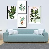 Tranh treo tường, tranh canvas TB10 bộ 4 tấm thumbnail
