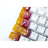 Set keycap cá koi tone vàng đỏ đô trang trí bàn phím cơ. thumbnail