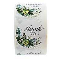 500pcs Per Roll Thank You Sealing Stickers Round Paper Labels Christmas Sticker thumbnail