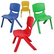 Ghế nhựa đúc - màu ngẫu nhiên thumbnail