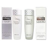 Bộ dưỡng trắng da - Bộ dưỡng da chiết xuất từ Collagen 3W CLINIC Hàn Quốc [Nước Hoa Hồng + Sữa Dưỡng] thumbnail