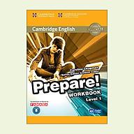 Cambridge English Prepare Level 1 Workbook With Audio - Reprint thumbnail