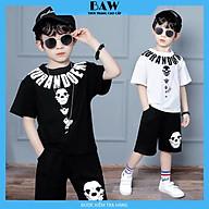 Set Đồ Bé Trai chất cotton mát mịn thấm hút mồ hôi tốt phong cách hàn quốc, thời trang trẻ em thương hiệu BAW mã 163-164 thumbnail