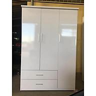 Tủ nhựa đài loan 3 cánh 2 ngăn kéo cao cấp V320 thumbnail