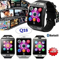 Q18S Smart Wrist Watch compatible with Samsung,Xiaomi huaiwei,IPHONE. Android,ios Smartphones iPhone thumbnail