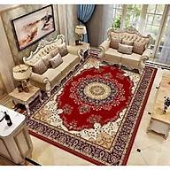 Thảm trải sàn Sofa trang trí phòng khách Bali in 3D Nhung nỉ lì cao cấp sang trọng hiện đại BL59 - Lông Vũ Sắc Màu thumbnail
