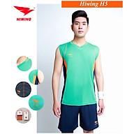 Bộ quần áo bóng chuyền cao cấp thương hiệu HIWING H5 xanh ngọc thumbnail