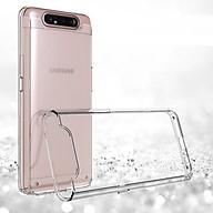Ốp lưng silicon dẻo trong suốt cho SamSung Galaxy A80 siêu mỏng 0.6mm thumbnail