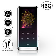 JNN M13 MP3 Player Portable Digital Music Player Touch Button FM Radio Support BT Function with 3.5mm Headphones Zinc thumbnail
