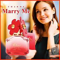 Nước Hoa Nữ Charme Marry Me 30ml thumbnail