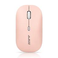 Chuột Không Dây Không Ồn AJAZZ i18 Pink Silient Mouse (Màu Hồng) - Hàng Nhập Khẩu thumbnail