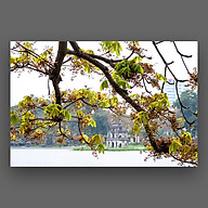 Tranh Hoa Lá Canvas Treo Tường Trang Trí - Công Nghệ In UV Nhật Bản Màu Sắc Đẹp Rõ Nét thumbnail