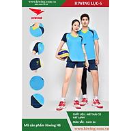Bộ quần áo Bóng Chuyền cao cấp thương hiệu Hiwing H6 màu xanh nhạt thumbnail