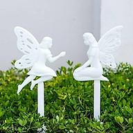 Cọc rào dạ quang hình thiên thần _ Trang trí sân vườn thumbnail