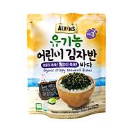 Rong biển hữu cơ rắc cơm vị hải sản Alvins 21gr (Hàn Quốc) thumbnail