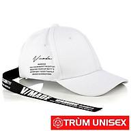 Nón Đuôi dài Mũ Hàn Quốc dây dài Unisex Màu trắng Trùm Unisex Sành Điệu Cá Tính aothununisex thumbnail