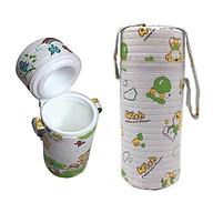 Túi ủ bình sữa đơn cho bé họa tiết ngẫu nhiên thumbnail