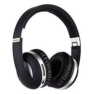 Tai Nghe Bluetooth Chụp Tai Không Dây EK-MH4 Chất Lượng Âm Thanh Tuyệt Vời Hỗ Trợ Thẻ Nhớ 32GB - Đen - Hàng Nhập Khẩu thumbnail