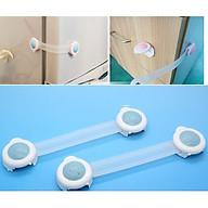Set 2 Khóa chặn cửa tủ lạnh an toàn cho bé br00498 thumbnail