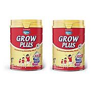 BỘ 2 LON SỮA BỘT VINAMILK DIELAC GROW PLUS 1+ 900G (CHO TRẺ TỪ 1 - 2 TUỔI) thumbnail