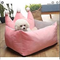 nệm vương miện cho chó mèo size 45x60x15cm thumbnail