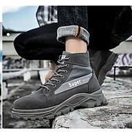 Giày nam cổ cao - bôt da lộn Super thumbnail