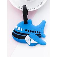 Thẻ treo vali. thẻ hành lý, thẻ tên vali Máy bay xanh thumbnail