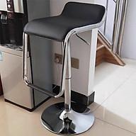 Ghế quầy bar đen trắng (kt 60-80x36x45cm) Giao màu ngẫu nhiên thumbnail