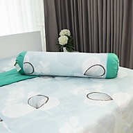 Vỏ gối ôm HQ3006-100% cotton- xanh lá nhạt thumbnail
