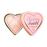 Phấn má Makeup Revolution I heart makeup blushes - Peachy Pink kisses (Bill Anh) thumbnail