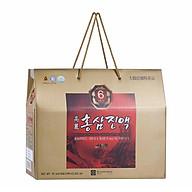Thực phẩm chức năng nước hồng sâm Hàn Quốc 6 năm tuổi Chong Kun Dang 6 Years Korean Red Ginseng Extract Liquid 70ml x 30 gói thumbnail