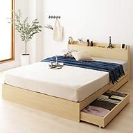Giường ngủ Châu Âu cao cấp - alala.vn (1m4x2m) thumbnail