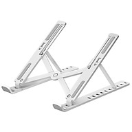 Laptop Stand Ultra-thin Notebook Support Holder 10-Level Adjustable Height Foldable Computer Holders Desk Dock Bracket thumbnail