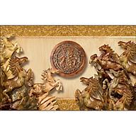 Tranh treo tường mã đáo thành công gỗ MDF nhập khẩu thumbnail