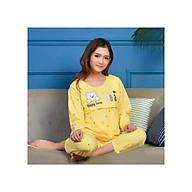Bộ ngủ mặc nhà dài tay chất liệu cao cấp thumbnail